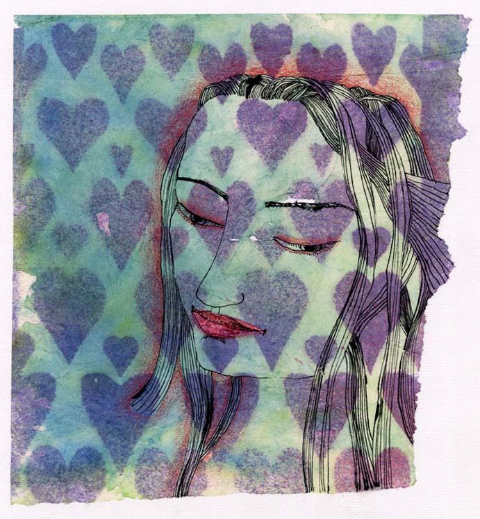soft loveheart girl