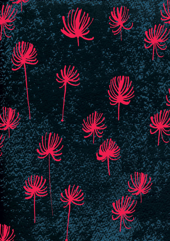 Dark-sky-pink-flowers