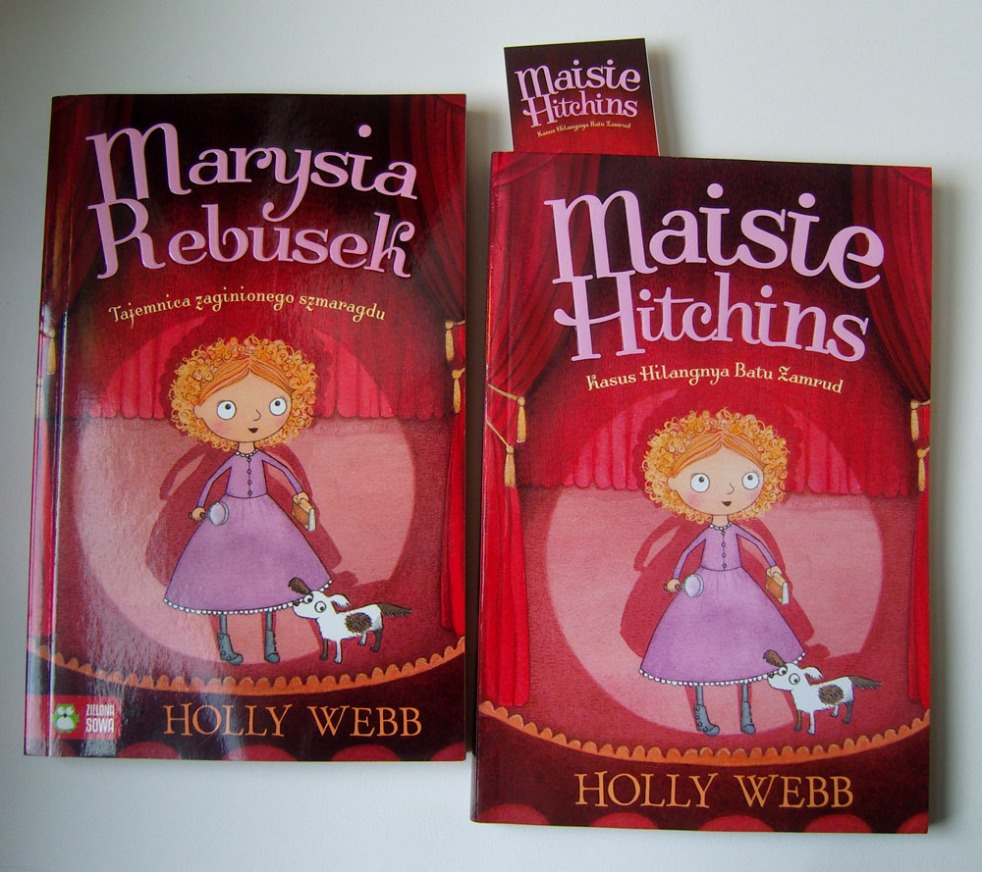 The Case of the Vanishing Emerald in Polish and French editions.