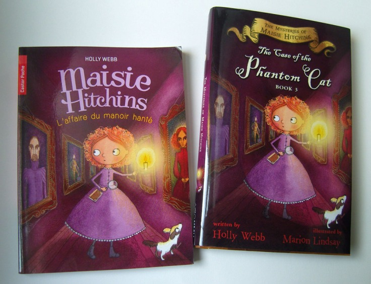 The Case of the Phantom Cat in American and French editions.