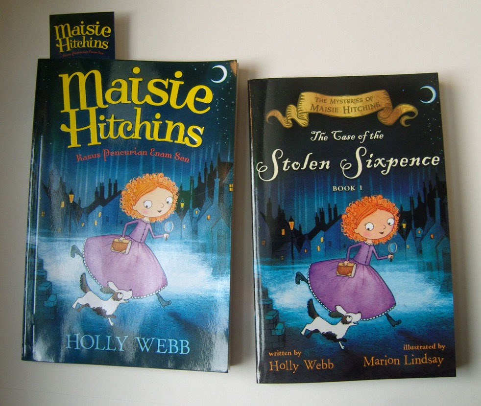 The Case of the Stolen Sixpence in American and Indonesian editions.