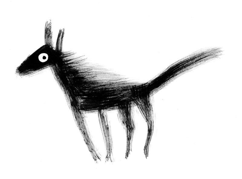 horsey-dog